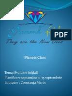 Planificare Grupa Mare Saptamana 11-15 Septembrie