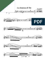 Mozart Clemenza Di Tito -Arie -Solo Clarinet - 001 Clarinet in Bb