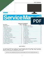 Aoc e936swa Service Manual