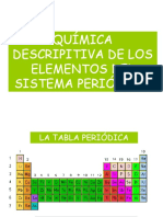 QUIMICA DESCRIPTIVA