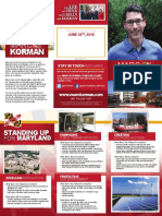 Fall 2017 Korman Brochure