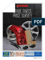 Autocar Spare Parts Price Survey