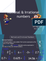 Rational and Irrational Numbers Nature