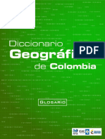 Diccionario Geografico de Colombia Glosario_17!09!15