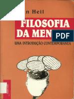 Heil, John - Filosofia Da Mente