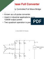 3 Phase Full Wave Converter RL Load