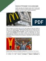 Mcdonald Historia