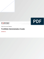Fortiweb v5.8.0 Administration Guide