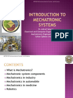 1 Introduction to Mechatronic Systems