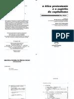 WEBER, Max. A ética protestante e o espírito do capitalismo.pdf