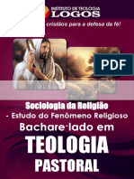 31 - BEL Teologia Pastoral Sociologia Da Religiao