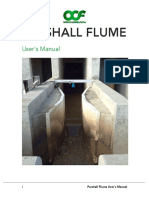 Parshall Flume Users Manual