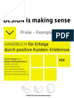 Service Design is making Sense - HANDBUCH für Erfolg durch positive Kunden-Erlebnisse