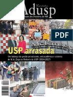 RevistaAdusp61 Setembro2017 Usp Arrasada