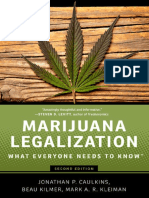 Caulkins, Jonathan Paul; Kilmer, Beau; Kleiman, Mark Marijuana Legalization What Everyone Needs to Know