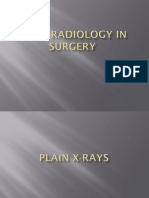Basic Radiology in Surgery