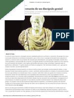 Aristóteles o El Corazón de Un Discípulo Genial
