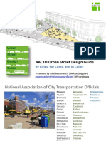 NACTO Urban Street Design Guide PPT October-2014