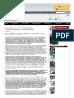Walter Benjamin e a tarefa da crítica - Revista Cult