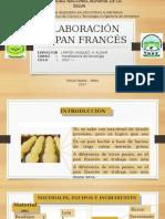 Elaboración de Pan Francés