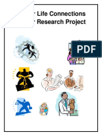 career research project booklet