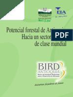Potencial Forestal de Antioquia