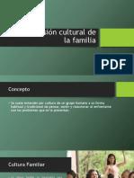 La Dimensión Cultural de La Familia