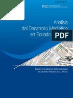 Desarrollo Mediatico Ecuador Unesco