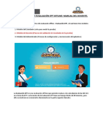 Manual Usuario Docente - Aplicativo de Evaluación Offline_11.08.2017