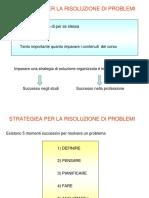 Strategia Di Risoluzione Dei Problemi Fisici