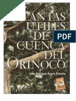 Plantas Utiles de La Cuenca Del Orinoco