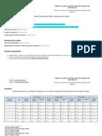 Formulário de Informações Relativas a Documentação de Registro