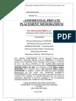 Pcccapitalinvestmentsllc Ppm v3 A
