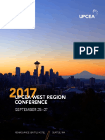 UPCEA 2017 West Region Conference Program