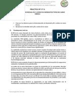 Determinacion de Ph y Acidez en Carnes de Res,Cerdo, Pollo, Gallina,Cuy