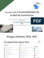 Resiliencia y Sustentabilidad de la Red de Suministros 2017.pptx