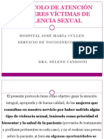 Protocolo de Atención a Mujeres Víctimas de Violencia