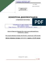 ADA CIGANLIJA Konkursna Dokumentacija Odvoz Zemlje 1 1