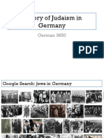 history of judaism in germany