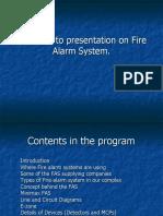 Fire Alarmsystem Presentation