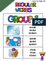 List of Irregular Verbs