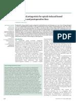 TAREAThe Lancet 4 April 2009 Methylnaltrexone and Alvimopan