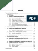 Indice de Manual Para Project Managers