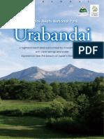Urabandai Sightseeing Brochure