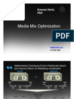 Introduction to Media Mix Optimization