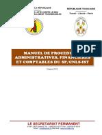 Manuel de Procédures Du SP-CNLS_Version Finale_déc 2012