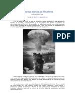 La Bomba Atómica de Hiroshima