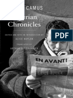 Algerian Chronicles - Albert Camus (1)