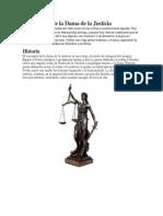 Simbolismo de La Dama de La Justicia