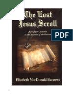 The Lost Jesus Scroll
